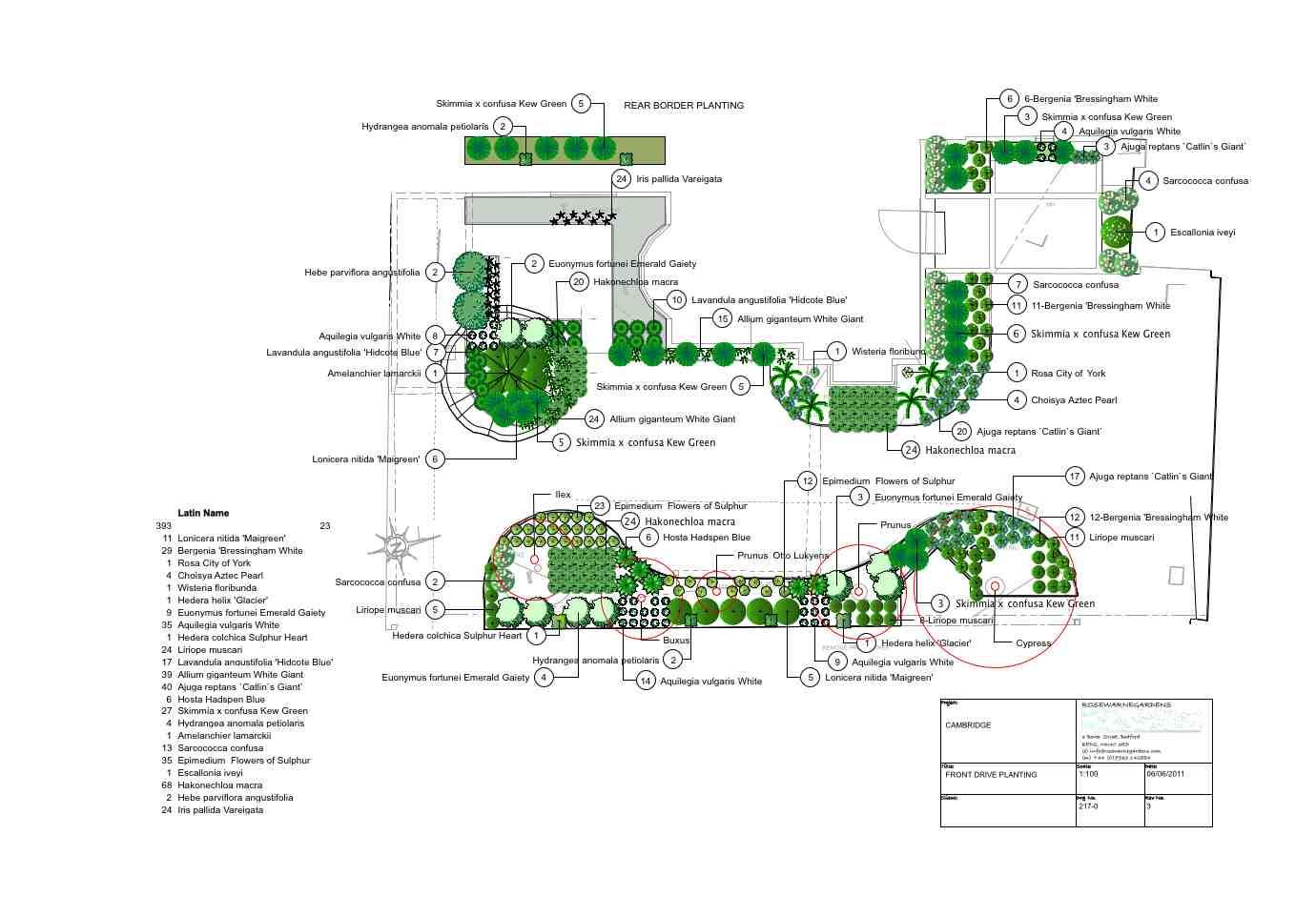 Front Garden Design, Cambridgeshire