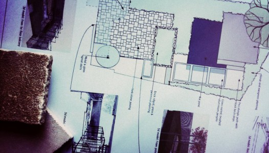 outline plan Bedfordshire garden design