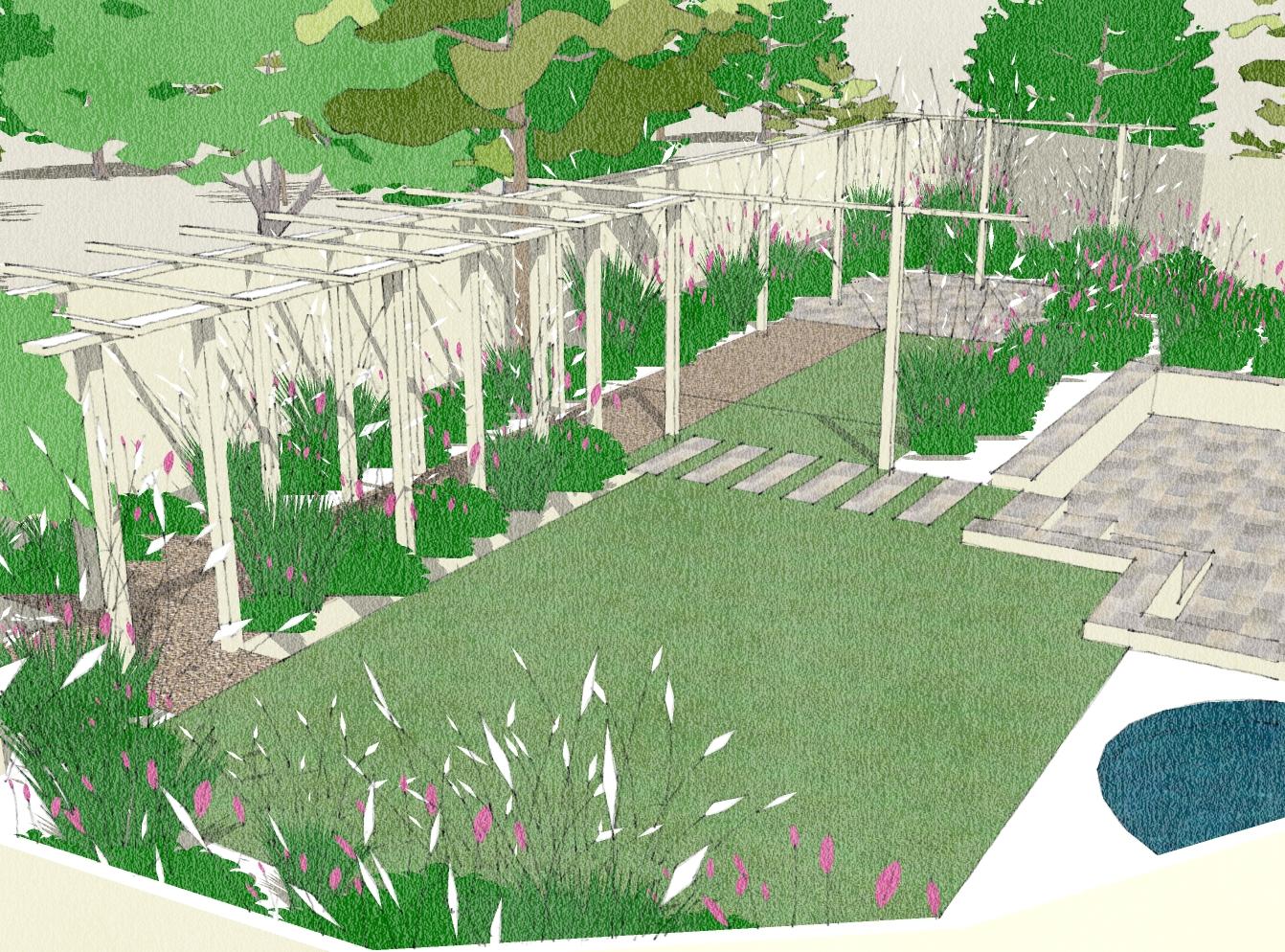 Sketching Is It Over Rated In Garden Design Rosewarne Garden