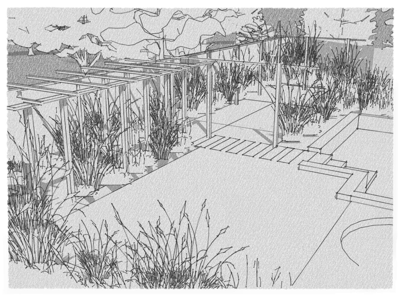Sketching. Is it over rated in Garden Design | Rosewarne ...