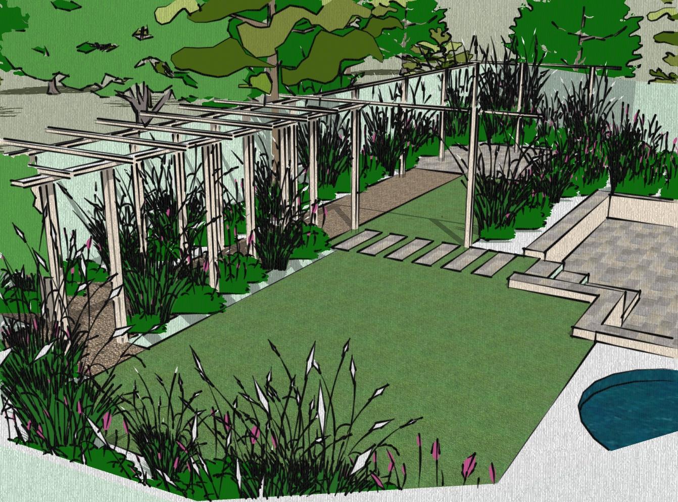 Sketching Is it over rated in Garden Design Rosewarne