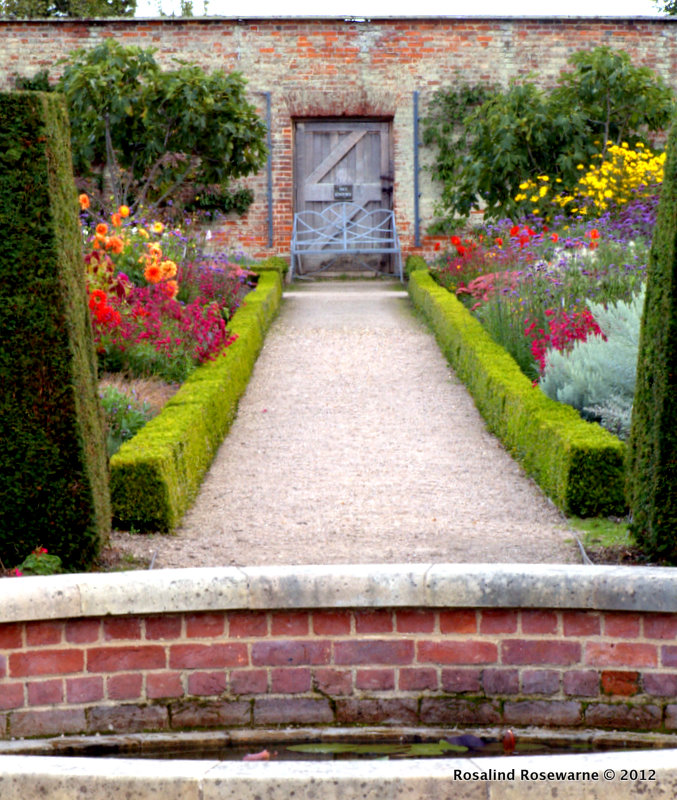 Inspirations from a walled garden wimpole hall rosewarne garden views within the inner garden workwithnaturefo