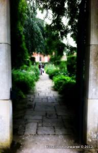 Beautiful gardens at Cottesbrooke Hall