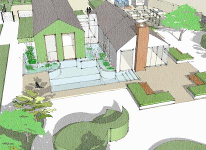 Ladnscape Design Bedfordshire - 3D modelling
