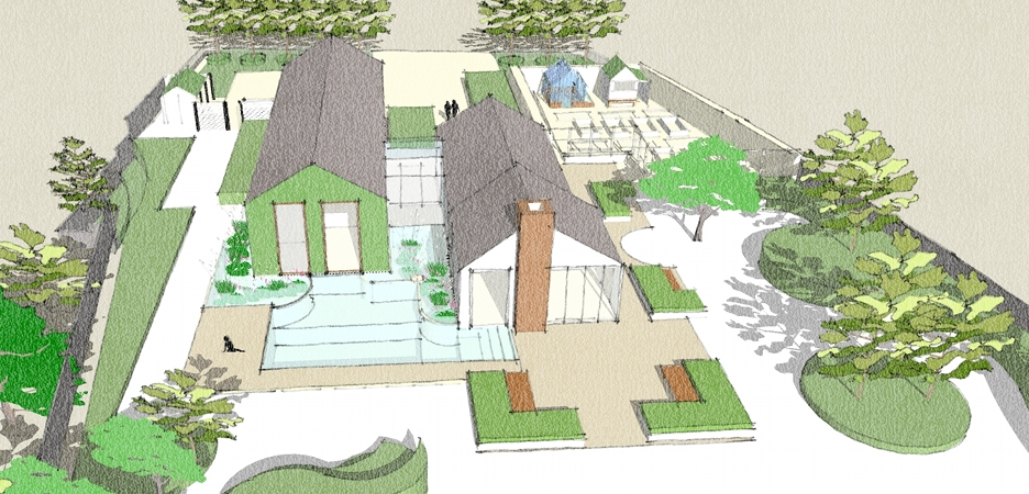 Architects planners and property developers rosewarne for 3d garden design