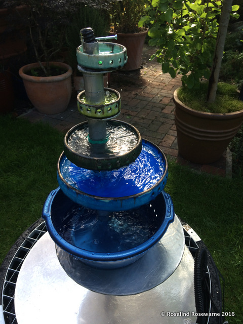 water feature trial run
